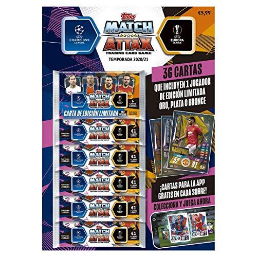 numéros Topps Championnat Sticker saison 2020//2021 3 dispalys par 36 pochettes