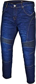 Gentry Choice Motorbike Touring Bikers Style Jeans Dark Blue Dupont Kevlar Lined