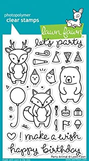 """Lawn Fawn Clear Stamps 4""""X6"""" - Party Animal (Pack of 1)"""