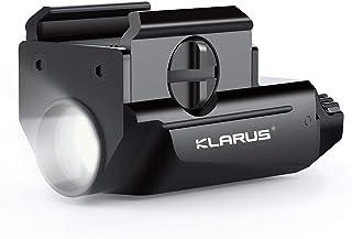 Klarus Pistol Light, Gun Rail Light 600Lumens Tactical Flashlight, USB Rechargeable Compact Weapon Flashlight