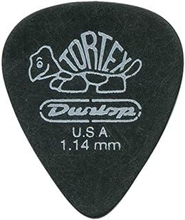 Dunlop 488R1.14 Tortex® Pitch Black, 1.14mm, 72/Bag