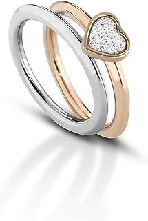 anello donna gioielli Ops Objects Glitter misura 16 casual cod. OPSAN-342L