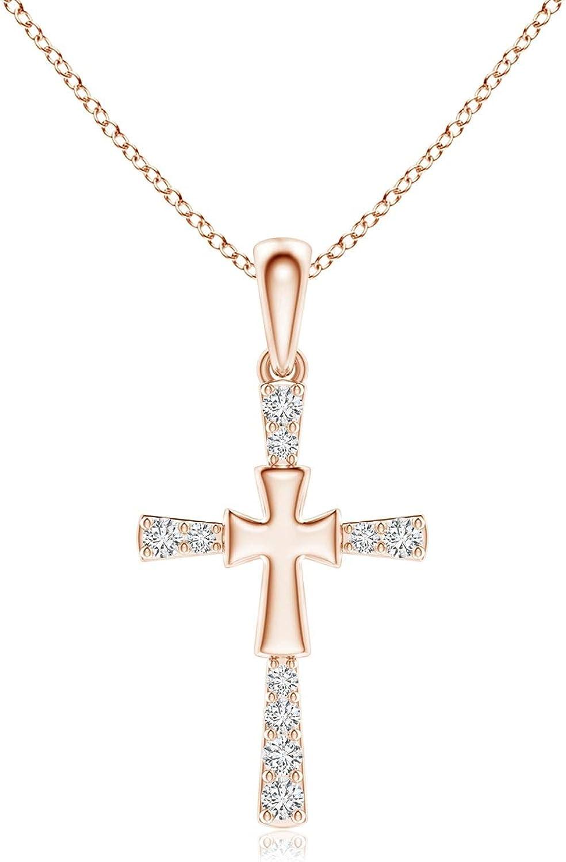 Regular store OFFicial site Diamond Layered Cross 1.6mm Pendant