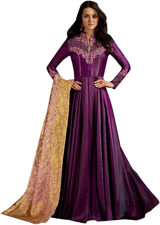 Bollywood Collection Pakistani Anarkali Salwar Suit Bridal Wedding Ceremony Punjabi Muslin Eid 798 9