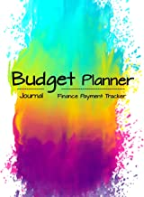 Budget Planner: Debt Tracker, Bill Tracker Record for Bill to be paip, Finance Planner, Monthly Yearly, Budgeting Book, Ex...