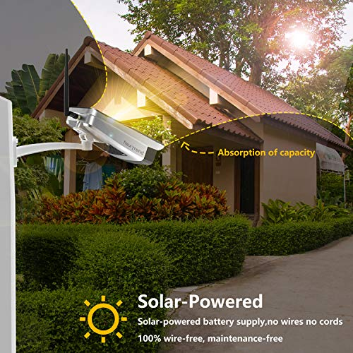 NexTrend Outdoor Solar Powered Security Camera