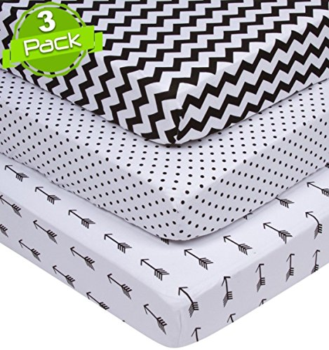 Buy Bargain Pack n Play Sheets | Black & White