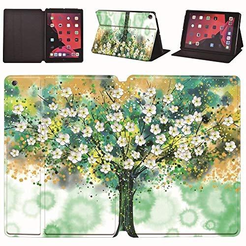 lingtai Leather Stand Cover Case Fit Ipad Mini 12345/Ipad Pro 9.7/10.5/11 Inch/Ipad Air 1/2/3/Ipad 234/Ipad 5/6/7/8 Generation (Color : FL tree, Size : IPad 2019 7th 10.2)