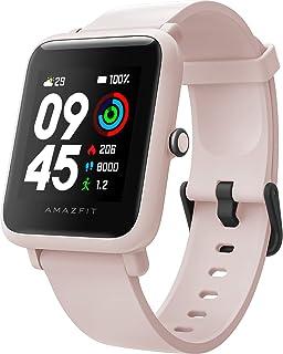 Amazfit Bip S Lite Smartwatch för män och kvinnor, 1,28 tum always-on färgskärm fitness tracker med 30 dagars batteri, 150...