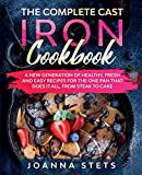 The Complete Cast Iron Cookbook: A...