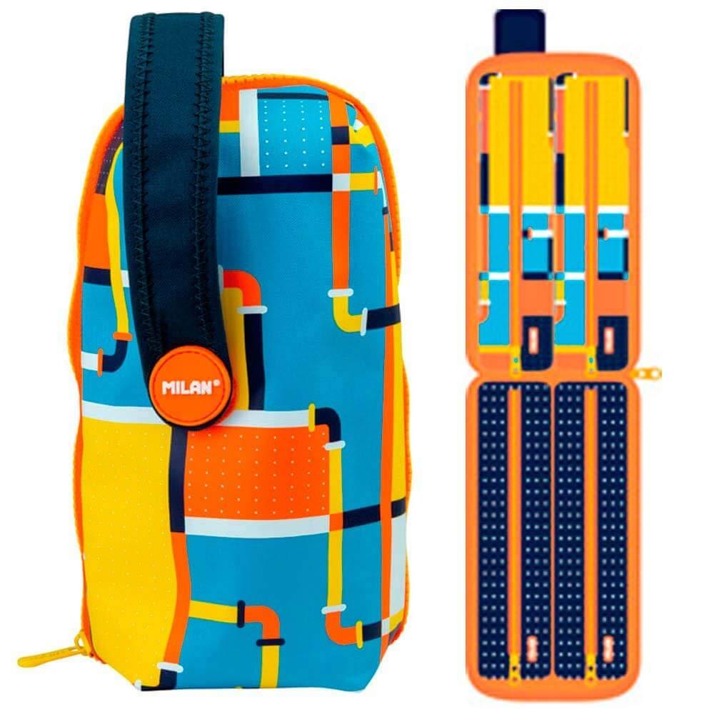 Kit 4 estuches Milan Underground con contenido azul - -5% en libros: Amazon.es: Oficina y papelería
