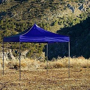 Regalos Miguel - Carpas Plegables 3x3 - Carpa 3x3 Basic - Azul - Envío Desde España