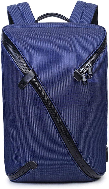 Student Double Shoulder Bag Wasserdichter und verschleifester Rucksack Business Casual USB Charging Daypack