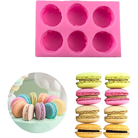 set of 5 Cupcake Silicone Soap Cooking Molds