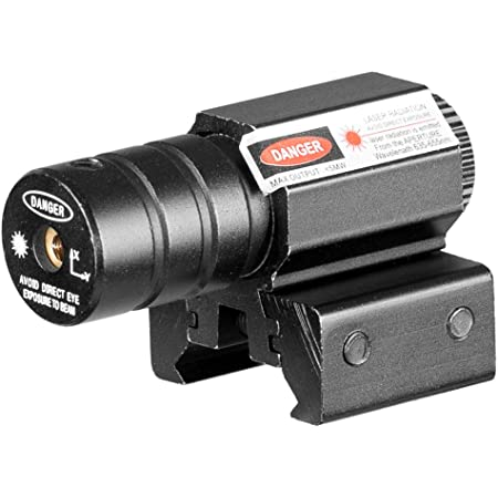 ACEXIER 50-100メートル範囲635-655nmレッドドットレーザーサイトピストル調整11mm&20mmピカティニーレール