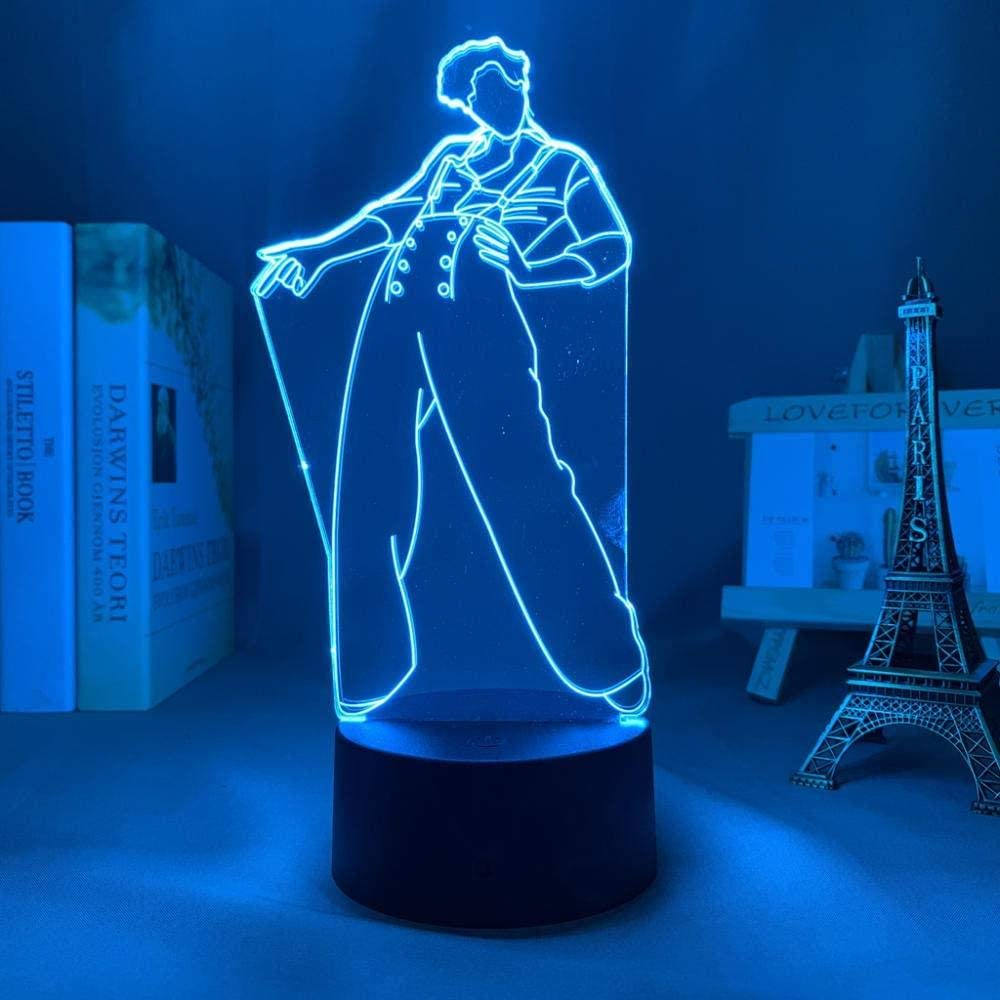 3D Sale Anime Max 75% OFF lamp for Kids Night Styles Harry Light lam