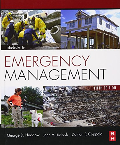 Price comparison product image Introduction to Emergency Management