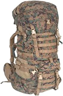 Military Outdoor Clothing, Used, Previously Issued U.S. G.I. USMC MARPAT Large ILBE Complete Field Pack with Lid and Hip Belt