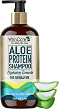 WishCare®️ Aloe Protein Shampoo - Hydrating Formula - Free from Mineral Oils, Sulphates & Parabens - For Regular Use - 300 Ml