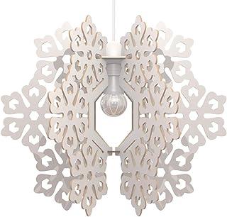Lampadario Design Fiocco di neve Lampada Sospensione Soffitto Arredamento cameretta