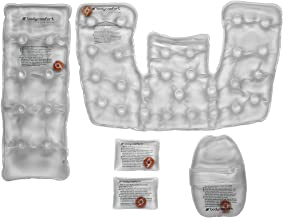 Body Comfort Reusable, Instant Heat, Click Heat, Back, Neck and Shoulder, Hand, and Pocket Packs, Helps Relieve Pains, Aches, Injuries, and Sore Muscles.