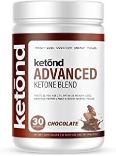 Ketond Advanced Ketone Blend — High-Performance Weight Loss Supplement - 30 Servings (Chocolate - Limited Edition)