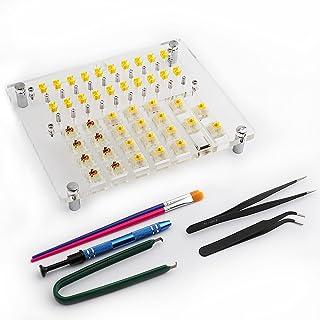 TsungUP Brytartestare öppnare lubstation smörjstation 20 tangenter MX BOX testare i akrylomkopplare för Gateron Cherry MX ...
