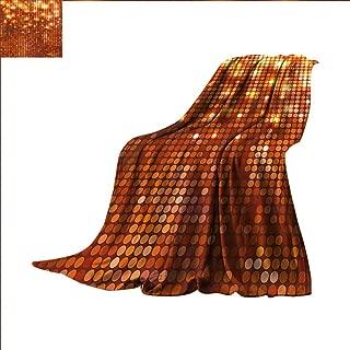 Hariiuet Abstract Digital Printing Blanket Symmetric Dots Pattern Vivid Color Details Spotty Mosaic Design Summer Quilt Comforter 62