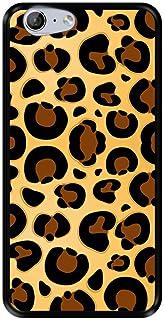 Mobilskal för [ Zte Blade V770 - Orange Neva 80 ] design [ Jaguar hud konsistens ] Svart TPU flexibelt silikonskal