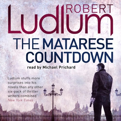 The Matarese Countdown                   By:                                                                                                                                 Robert Ludlum                               Narrated by:                                                                                                                                 Michael Prichard                      Length: 19 hrs and 50 mins     23 ratings     Overall 4.2
