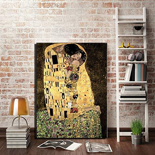 LiMengQi Warm und stilvoll Persönlichkeit, stark für das Wohnzimmer, Heimtextilien, Wandbild drucken Leinwand Malerei (kein Rahmen)