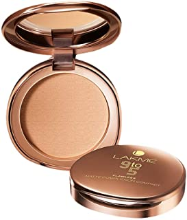 Lakme 9 to 5 Flawless Matte Complexion Compact, Melon, 8 gm