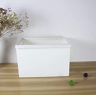 Home Storage Box Large Frame Folding Storage Box Toys and Clothes Debris Storage Creative Household Items White 2