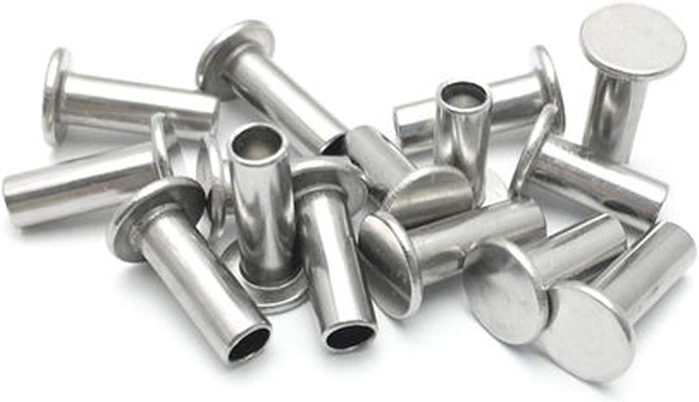 JBZD Rivet 10 40% OFF Cheap Sale M5 304 Stainless Flat Steel semi-Tubular Head Louisville-Jefferson County Mall Rive