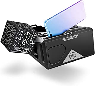 MERGE Cube and VR Headset Bundle for Augmented Reality and Virtual Reality, STEM Learning and Educational Games