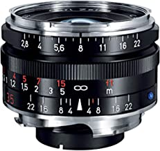 Zeiss Ikon C Biogon T ZM 2.8/35 Wide-Angle Camera Lens for Leica M-Mount Rangefinder Cameras, Black (1486-393-L)