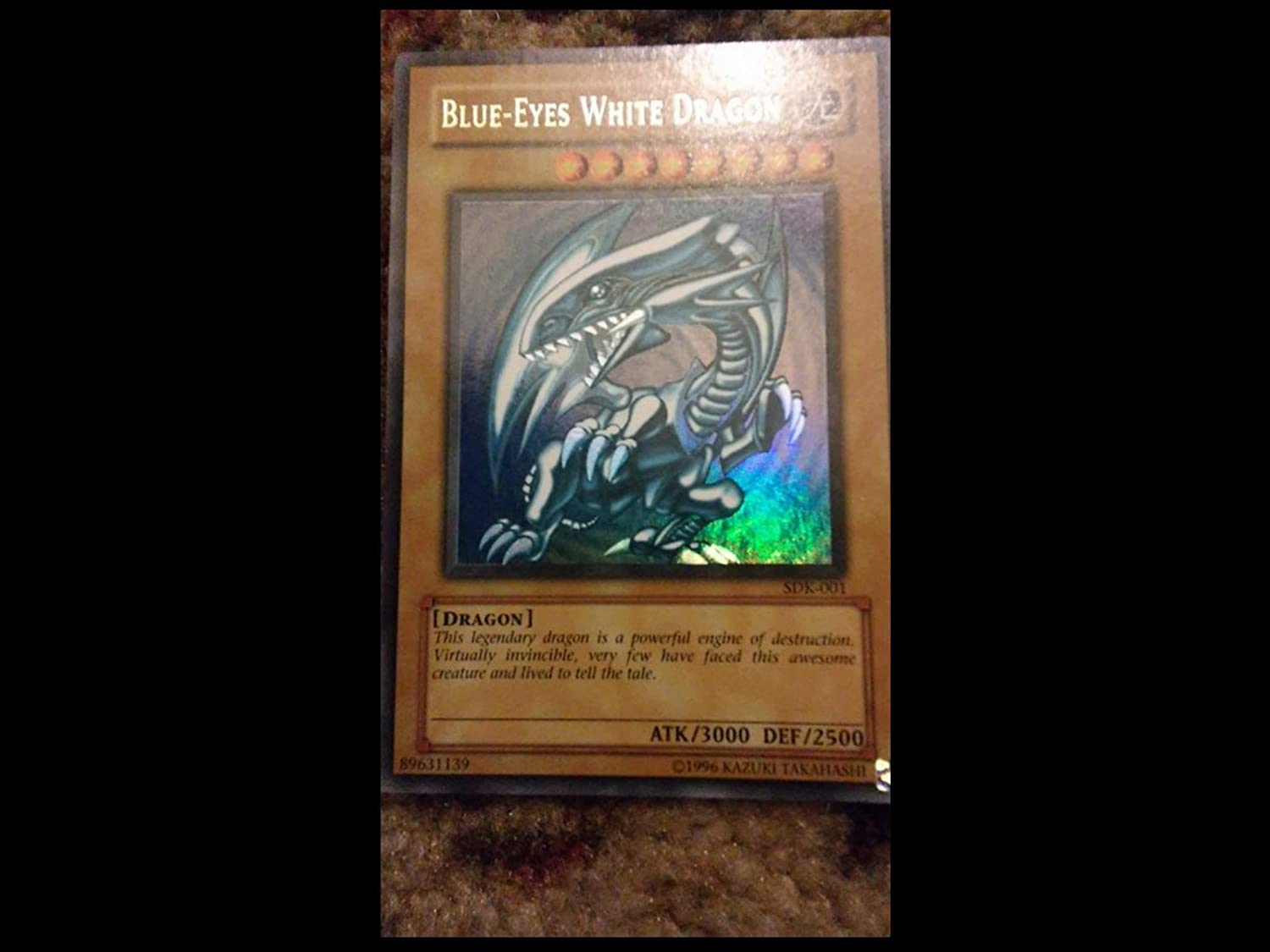 YuGiOh   blueeEyes White Dragon (SDK001)  Starter Deck Kaiba  Unlimited Edition  Ultra Rare by YuGiOh