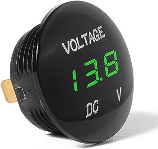 XCSOURCE Universale Display Digitale voltmetro Impermeabile
