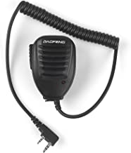 BAOFENG Speaker MIC for BAOFENG UV-5R 5RA 5RB 5RC 5RD 5RE 5REPLUS 3R+ 5R EX, 5RX3