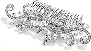 Mariell Bridal, Bridesmaid, Prom & Vintage Wedding Crystal Rhinestone Hair Comb