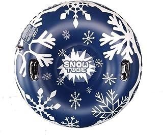 JanTeelGO Tube à neige gonflable pour luge pour enfants et adultes 119,4 cm