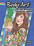 Body Art Coloring Book (Dover Design Coloring Books)