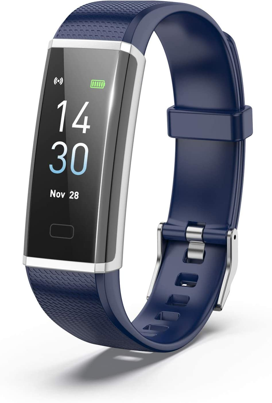 Fitness Tracker Department store Max 84% OFF HR Activity Watch Color 0.96
