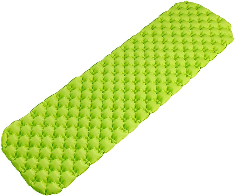 Sleeping Pad,Camping Mat Inflatable Camping Air Pad Lightweight Roll Mattress Compact Sleeping Pad for Backpacking,Hiking,Tent,Hammock,Green
