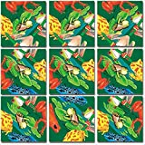 b. dazzle, inc Scramble Squares: Frogs