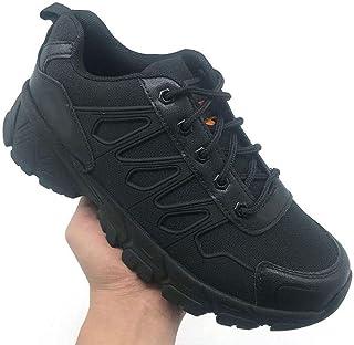 Aerlan Walking Run Jogging Walking Casual Sneakers,Outdoor hiking shoes men, desert boots fight boots-black_39,Gym Jogging...