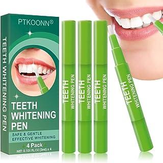 Blanqueamiento de dientes,Blanqueador Dental,Blanqueamiento Dental Gel,Blanqueador Dental,blanqueamiento de los dientes y gel,Reducir Manchas Dientes, 4 PCS