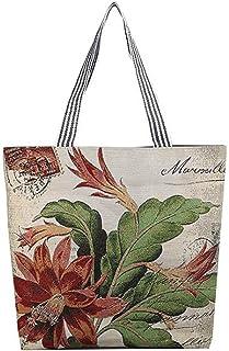 ALAIX Women' Tote Bag Handbag Cotton and linen Shoulder Bags for Women حقيبة كتف حقيبة يد نسائية حقيبة يد قماشية للنساء