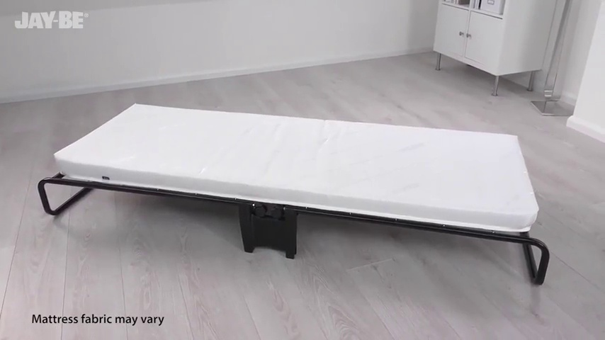 Black Jay-Be Smart Folding Bed with Airflow Mattress Single
