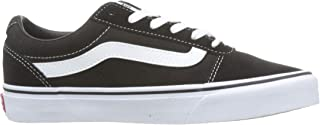 Vans WM Ward, Women's Sneakers, Black ((Suede/Canvas) Black/White IJU), 5 UK (38 EU)